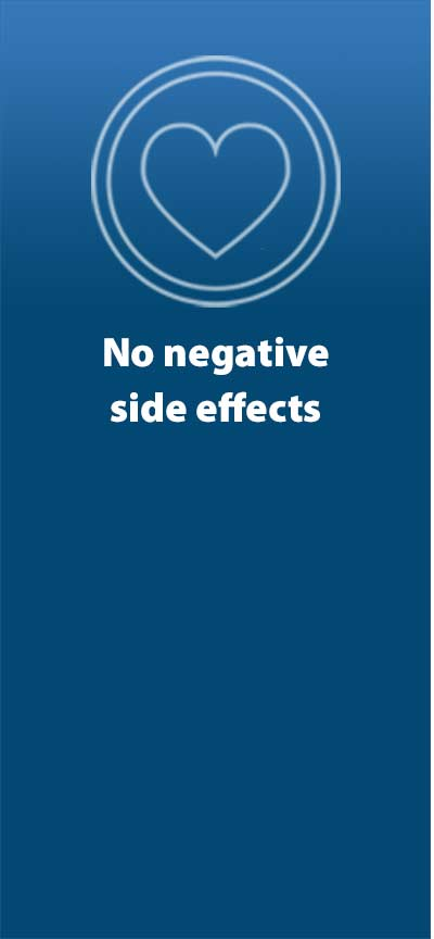 No negative side effects