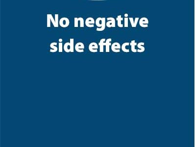 No negative side effects